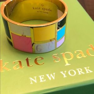 Kate Spade color block bracelet.